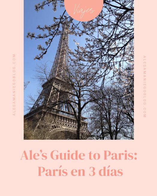 Guia de viaje a Paris
