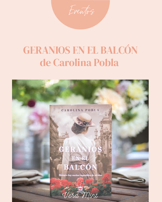 Geranios en el Balcón - Carolina Pobla